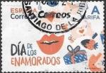 sello : Europa : España : Día de los enamorados