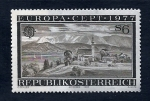 sello : Europa : Austria : Pueblo deLANDESCAPES