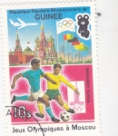 de Africa - Guinea -  OLIMPIADA MOSCU'80