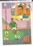 de Africa - Guinea Ecuatorial -   Munich'74 Pele