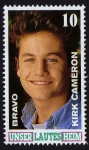 Stamps : Europe : Germany :  COL-KIRK CAMERON-UNSER LAUTES HEIM -LOS PROBLEMAS CRECEN