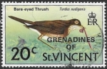 Stamps America - Saint Vincent and the Grenadines -  aves