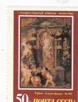 Stamps : Europe : Russia :  Estatua de Ceres, P.P. Rubens (1615)