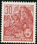 Stamps Germany -  Folklore