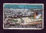 Stamps : Africa : Morocco :  Mausoleo  Mohamed  V