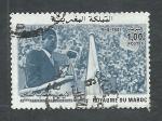 Stamps Morocco -  40 Anive.declaracion de la independensia  9-4-1947