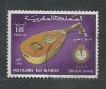 Stamps Morocco -  Instumento Mucical