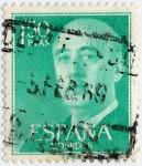Stamps : Europe : Spain :  General Franco
