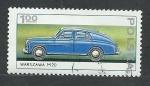 Stamps Poland -  Coche de hepoca