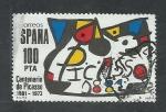 Sellos de Europa - España -  Centenario de Picasso  1973/1981