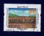 Stamps : Africa : Morocco :  60 Aniv.Reconstuccion de AGADIR