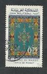 Stamps : Africa : Morocco :  Alfombra de Rabat