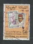Stamps : Africa : Morocco :  Dia del sello
