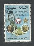 Stamps : Africa : Morocco :  Bicentenario de los EE.UU