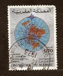 Stamps : Africa : Morocco :  Metorologia Mundial