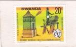 Stamps : Africa : Rwanda :  dÍa Mundial de las Comunicaciones
