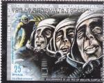 Stamps : Africa : Equatorial_Guinea :  Por la conquista del espacio tributaron con su vida