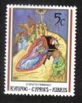 Stamps : Asia : Cyprus :  Natividad
