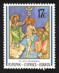 Stamps : Asia : Cyprus :  Navidad del 91