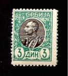 Stamps : Europe : Serbia :  RESERVADO CARLOS RODENAS