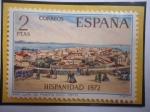 de Europa - España -  Ed:Es 2108- Hispanidad 1972 - San Juan de Puerto Rico (1870)- Herencia Hispana