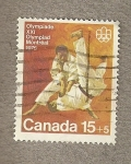 Stamps of the world : Canada :  XXI Olimpiada Montreal 1978