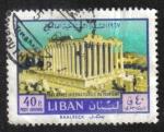 Stamps : Asia : Lebanon :  Año Internacional del Turismo 1967 (1er número)