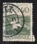 Sellos del Mundo : Africa : Mozambique : Zumbo River
