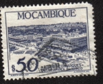 Stamps : Africa : Mozambique :  View of Lourenco Marques