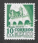 Stamps America - Mexico -  858 - Arquitectura Colonial
