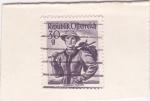 Stamps Austria -  TRAJES REGIONALES- Salzburg