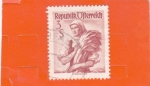 Stamps Europe - Austria -  TRAJES REGIONALES- Burgenland