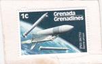 Stamps America - Grenada -  Transporte espacial