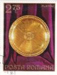Stamps Romania -  Plato