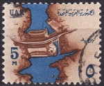 Stamps Egypt -  Presa de Assuan