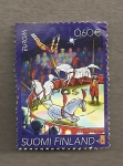 Stamps Finland -  Circo