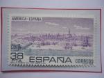 Stamps Spain -  Ed: 2720-América-España-Sevilla,Puerto con las Indias Siglo XVI-Inundaciones del río Guadalquivir.