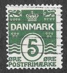 Stamps Europe - Denmark -  61 - Número