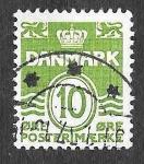 Stamps Europe - Denmark -  318 - Número