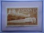 de Europa - España -  Ed:1232-XVII Congreso Internacional de Ferrocarriles-Madrid-Real Monast. de Sn.Lorenzo de El Escoria