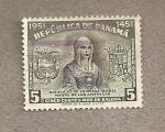 Stamps America - Panama -  Natalicio reina Isabel madre de las Américas