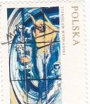 Stamps Poland -  Stanislaw Wyspianski
