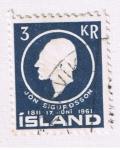 Sellos del Mundo : Europa : Islandia : Jon Sigurdsson