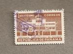 Sellos de America - Panamá -  Aeropuerto Int. de Tocumen