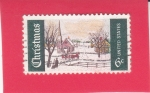 Stamps United States -  Navidad