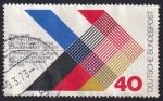 Sellos del Mundo : Europa : Alemania : 1oº aniversario cooperación franco-alemana
