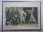 Stamps Switzerland -  Dieta de Stand(Asamblea)- Antigua Confederación Suiza - Sello de 5 Franco Suizo, del año1938.