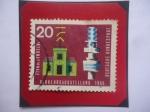 Stamps Germany -  Exposición Internacional de Transporte -Exposición de trafico 1965-Minich