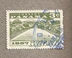 Stamps Panama -  VII Congreso de Carreteras