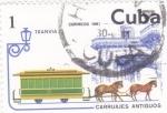 Stamps Cuba -  TRANVIA